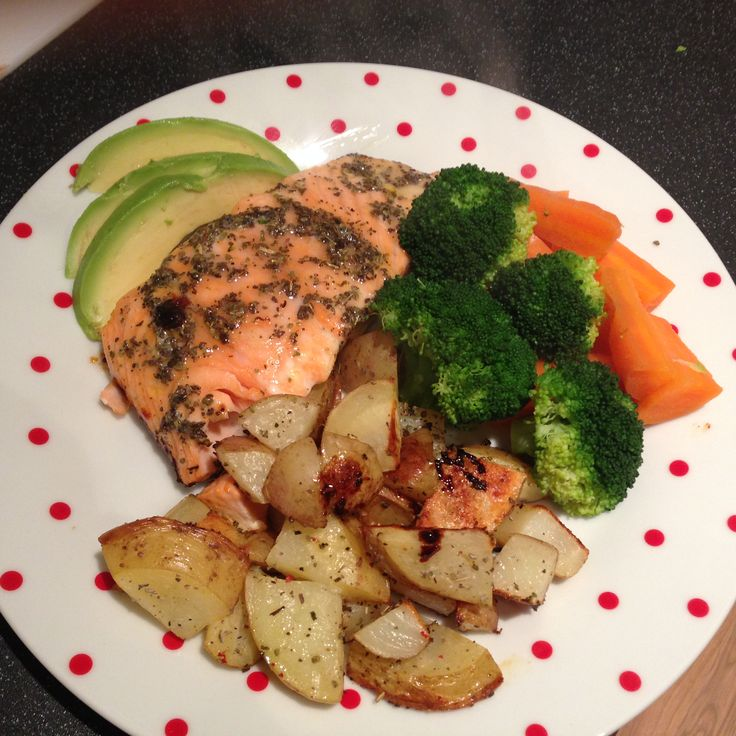 Sage Roasted Salmon and Potatoes