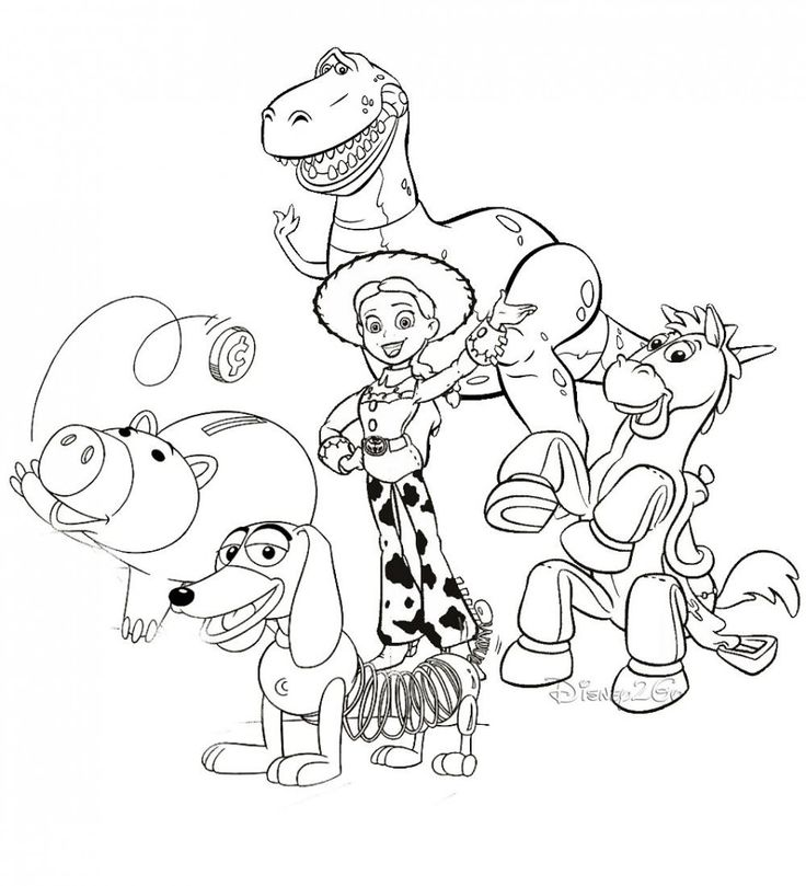 Toy Story Coloring Pages 42 Free Printable