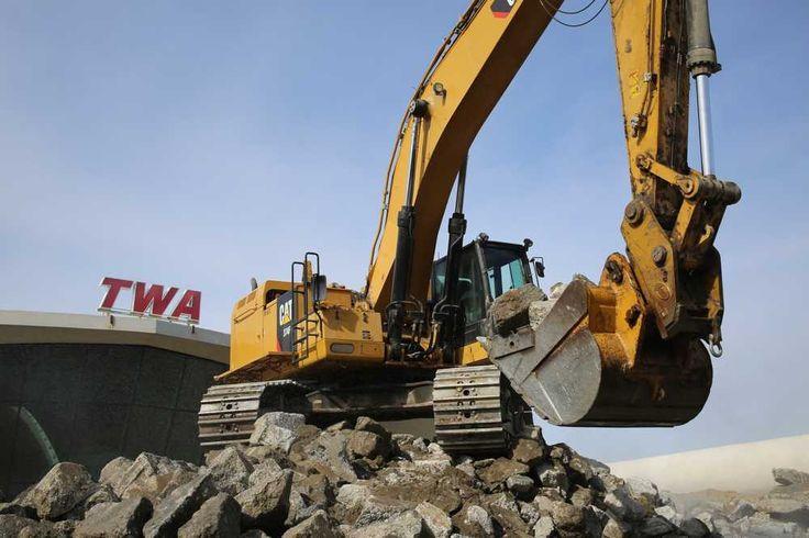 NY's Historic TWA Flight Center Adds $260M Hotel #heavyequipment #construction