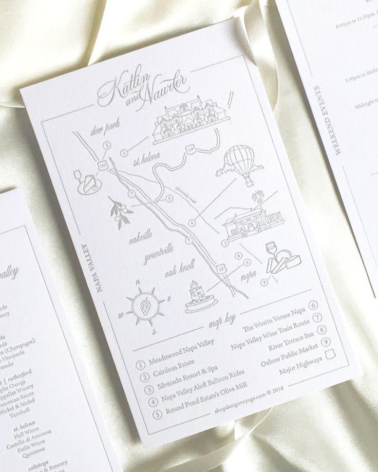 11 Best Our Custom Wedding Maps Images On Pinterest