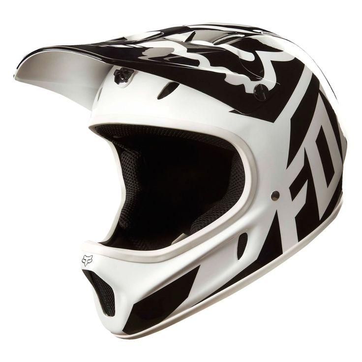 Fox Racing Rampage Helmet White/Black, L