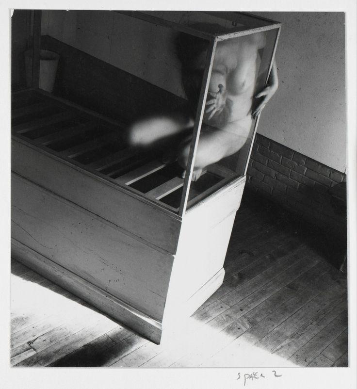 Francesca Woodman, Space2, Providence, Rhode Island (P.007), 1976, Andréhn-Schiptjenko