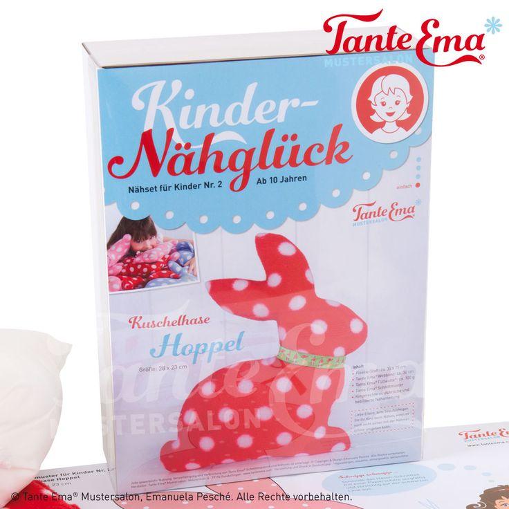 Tante Ema® Kinder Nähglück. Tolle Nähsets für Kinder mit ausführlicher bebilderter Anleitung und sehr verständlich geschrieben.