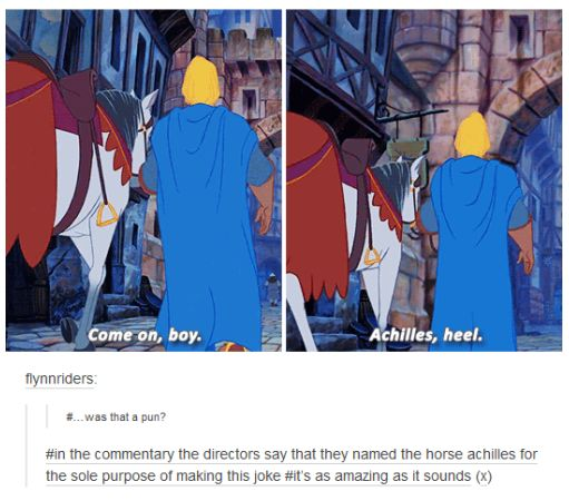 This commitment to the pun: | 26 Jokes That Will Make Disney Fans Laugh Way Harder Than They Should