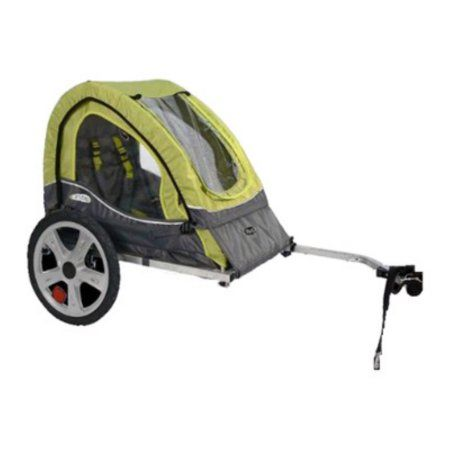 Free Shipping. Buy InStep Sync Single Child Bike Trailer - Green/Grey at Walmart.com