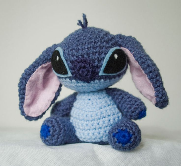 #Stitch #Amigurumi by ~pirateluv on deviantART