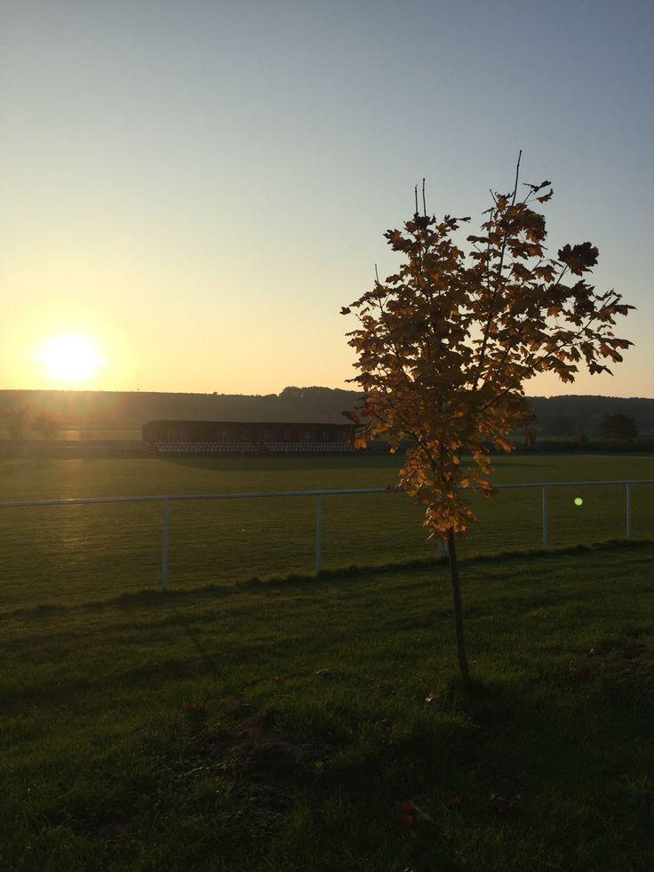 Sonnenuntergang in Kľačany