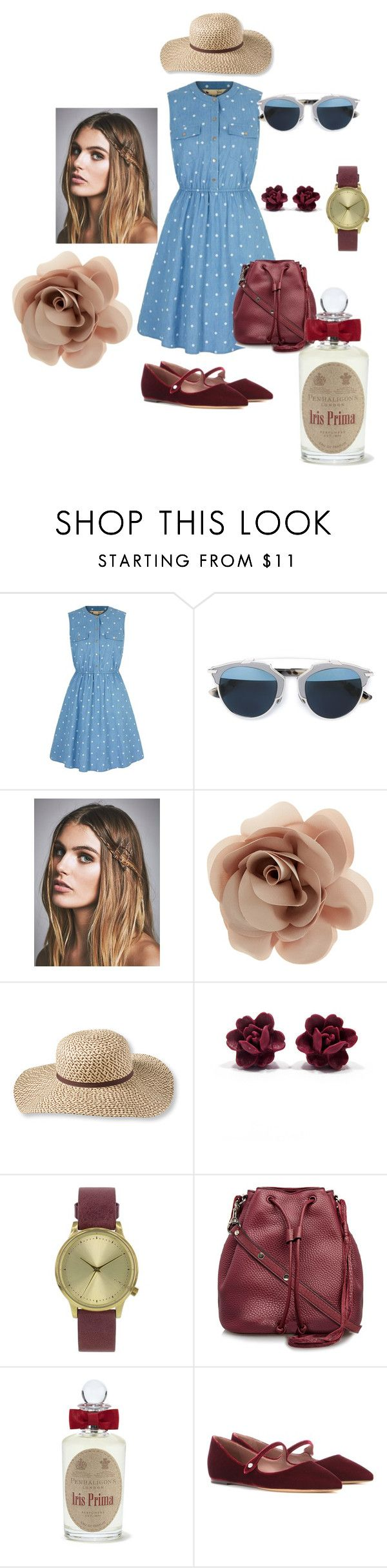 """6th"" by marialibra on Polyvore featuring Yumi, Christian Dior, Free People, Accessorize, L.L.Bean, Topshop, Rebecca Minkoff, PENHALIGON'S, Tabitha Simmons and women's clothing"