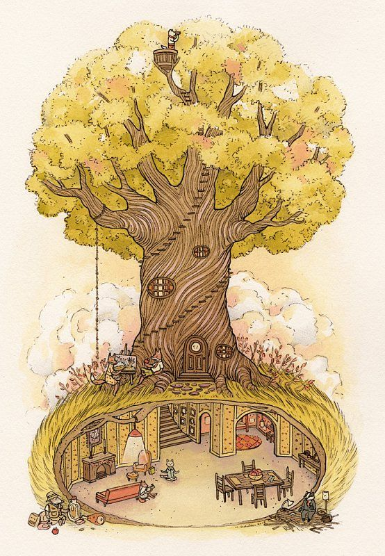 """Fantastic Mr. Fox / Fantastic Day - Nimasprout - The Art of Nicole Gustafsson. For the """"Bad Dads"""" Wes Anderson tribute show at Spoke Art (November 2013)"""