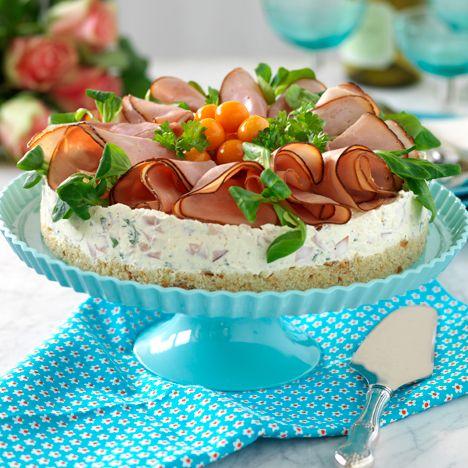 Recept på Cheesecake med skinka från - Hemmets Journal