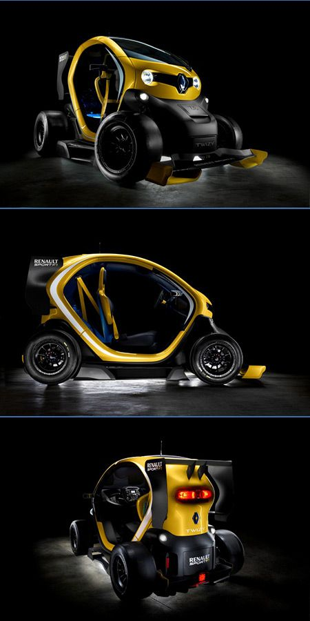 You Won't Believe This Tiny Car Has Formula 1 Technology - futuristic look