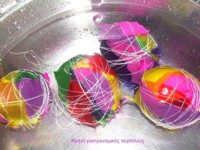 Κρήτη:γαστρονομικός περίπλους: Αυγά για στόλισμα!