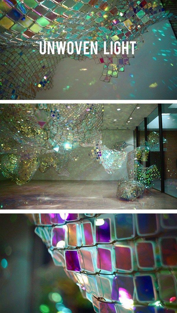Unwoven light by Soo Sunny Park