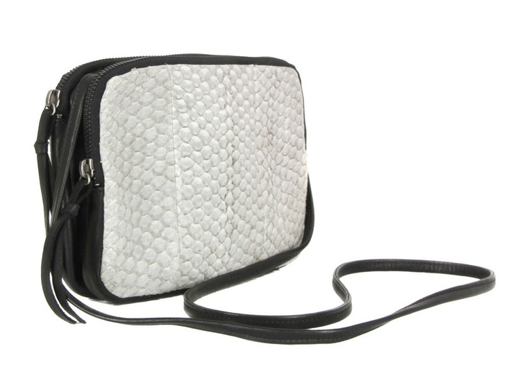 "#handbag made of fish leather (perch) | Design by #AllyCapellino ""Aia"""