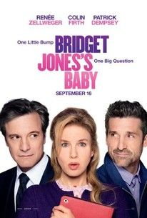 Oscar (R) winners Renée Zellweger and Colin Firth are joined by Patrick Dempsey for the next chapter of the world's favorite singleton in Bridget Jones's Baby. Directed by Sharon Maguire (Bridget Jones's Diary), the new film in the beloved comedy series based on creator Helen Fielding's heroine finds Bridget unexpectedly expecting. After breaking up with Mark Darcy (Firth), Bridget Jones's (Zellweger)
