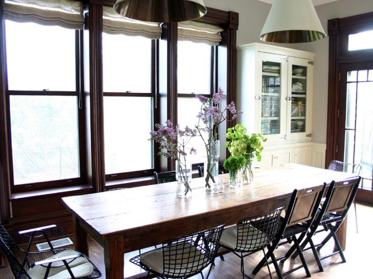 kitchen table design and decorating ideas
