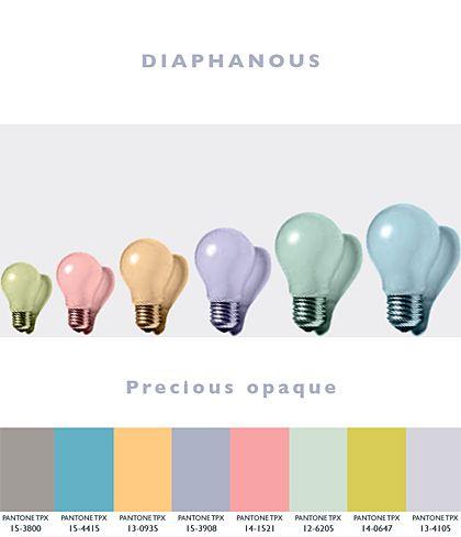 Diaphanous – Precious Opaque | Lenzing Spring/Summer 2014 Fashion & Color Trends