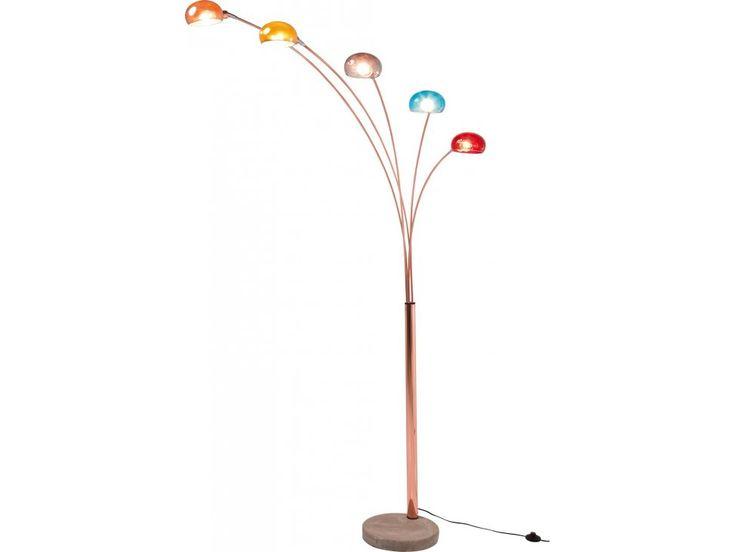 Lampa Podłogowa Five Fingers VII — Lampy podłogowe Kare Design — sfmeble.pl