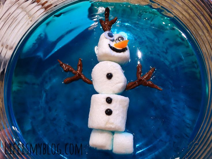 OLAF SWIMMING IN JELLO. | Life is my Blog