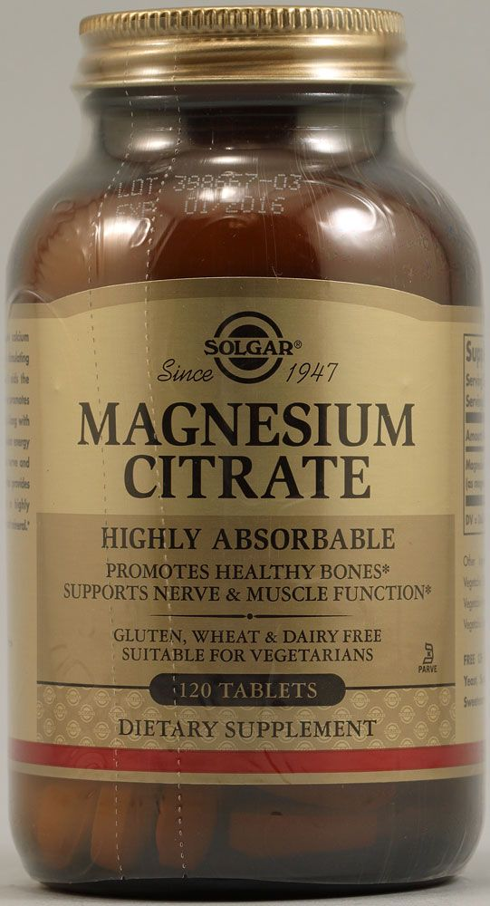 Magnesium Citrate for constipation, insomnia, bone health, and for leg and uterine cramps