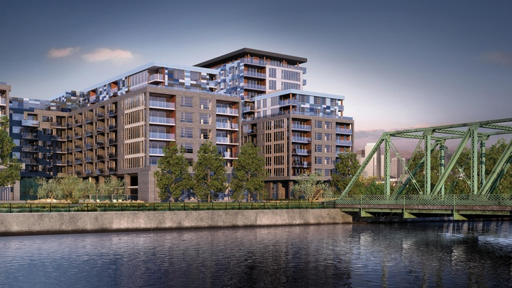 Le Canal. Phase 2. Condos, Griffintown.