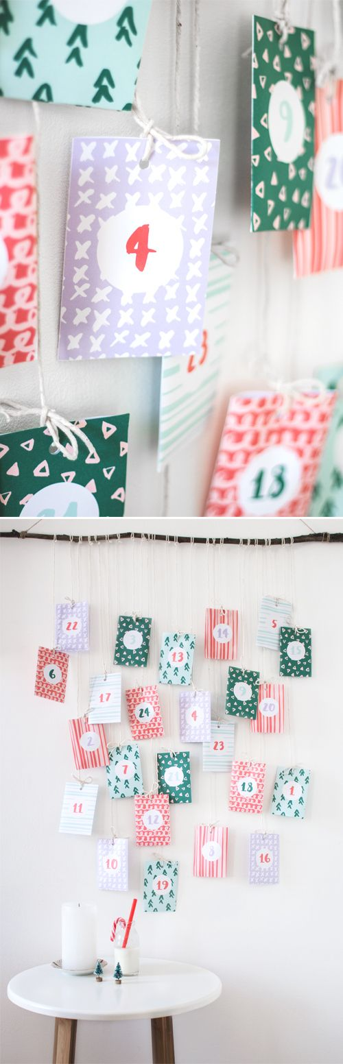 Freebie | Printable Advent Calendar