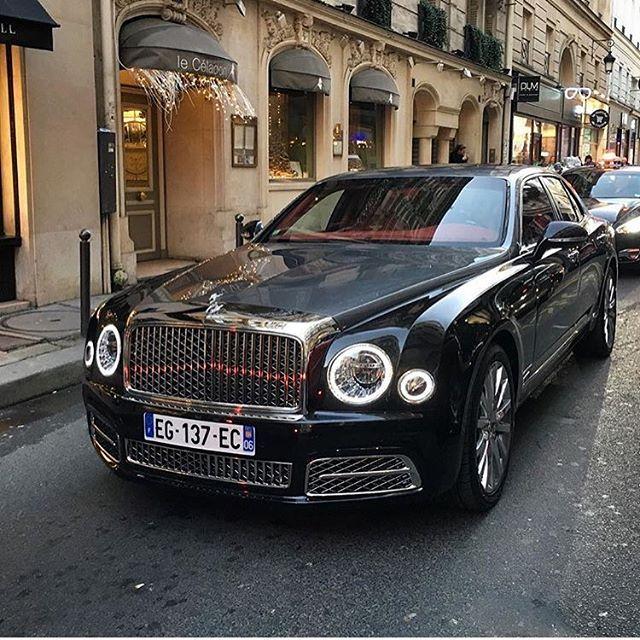 Instagram media by arabauto - New Bentley Mulsanne  Photo by @tim.spot  #new #bentley #mulsanne #paris