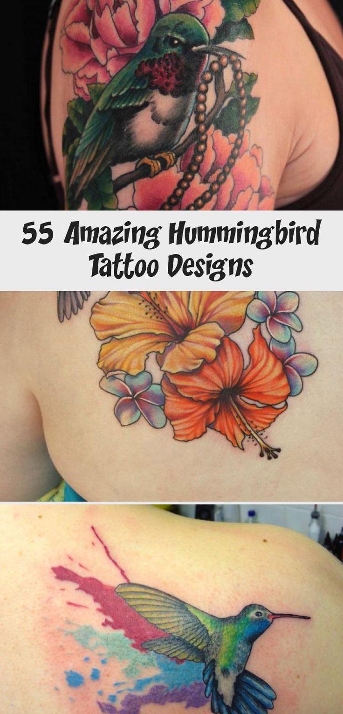 Hummingbird sleeve tattoo 55 Amazing Hummingbird Tattoo