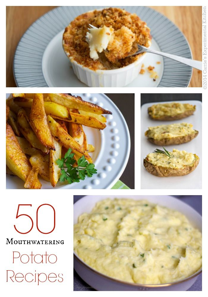 50 Mouthwatering Potato Recipes   Carrie's Experimental Kitchen #potatoes #reciperoundup