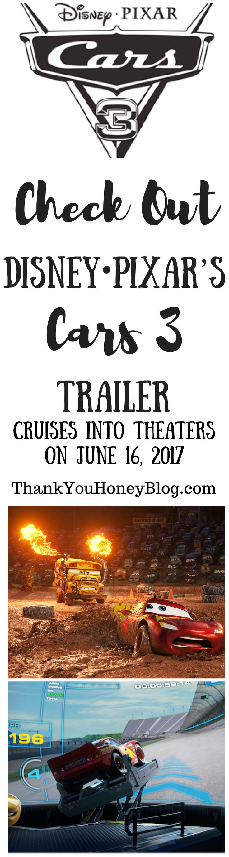 Check out the CARS 3 Trailer, 2017, Cars 3, Coming Soon, Disney•Pixar, Disney•Pixar`s Cars 3, Film, movies, Theaters June 16 2017, Check Out the CARS 3 Trailer, Summer Movies, Trailer