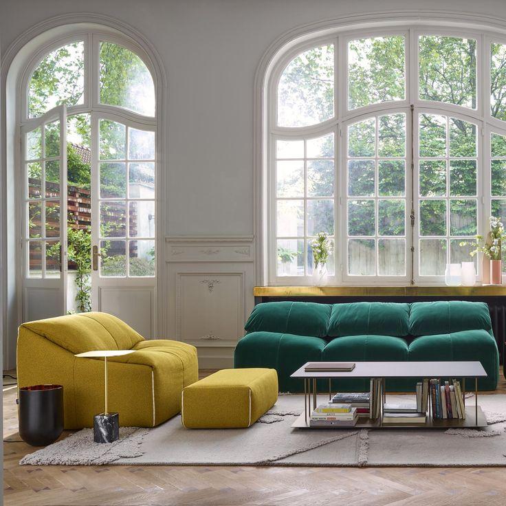 PLUMY Sofa | Designer : Annie Hiéronimus | Ligne Roset