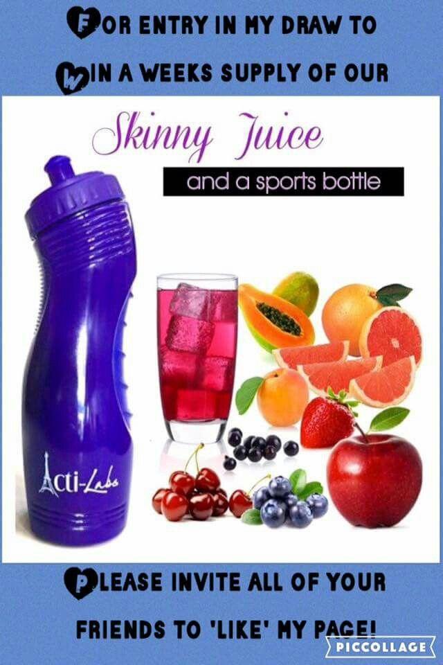 Acti Labs Skinny Juice Www.Acti-Labs.com/Me/Mary-Martin
