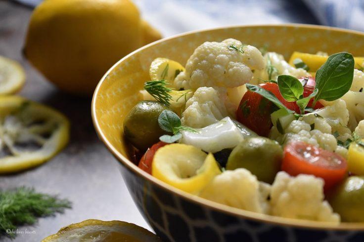 Best Ever Lemony Cauliflower Fennel Salad