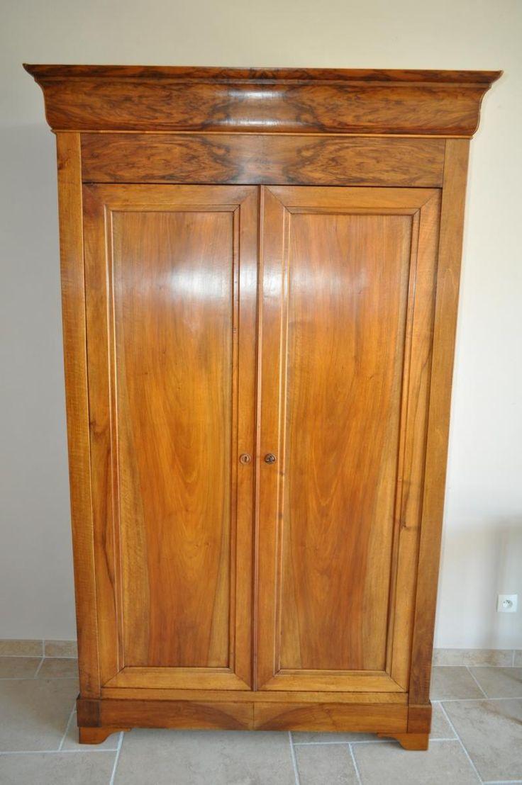 Les 25 meilleures id es de la cat gorie armoire louis philippe sur pinterest armoires en - Armoire louis philippe en noyer ...
