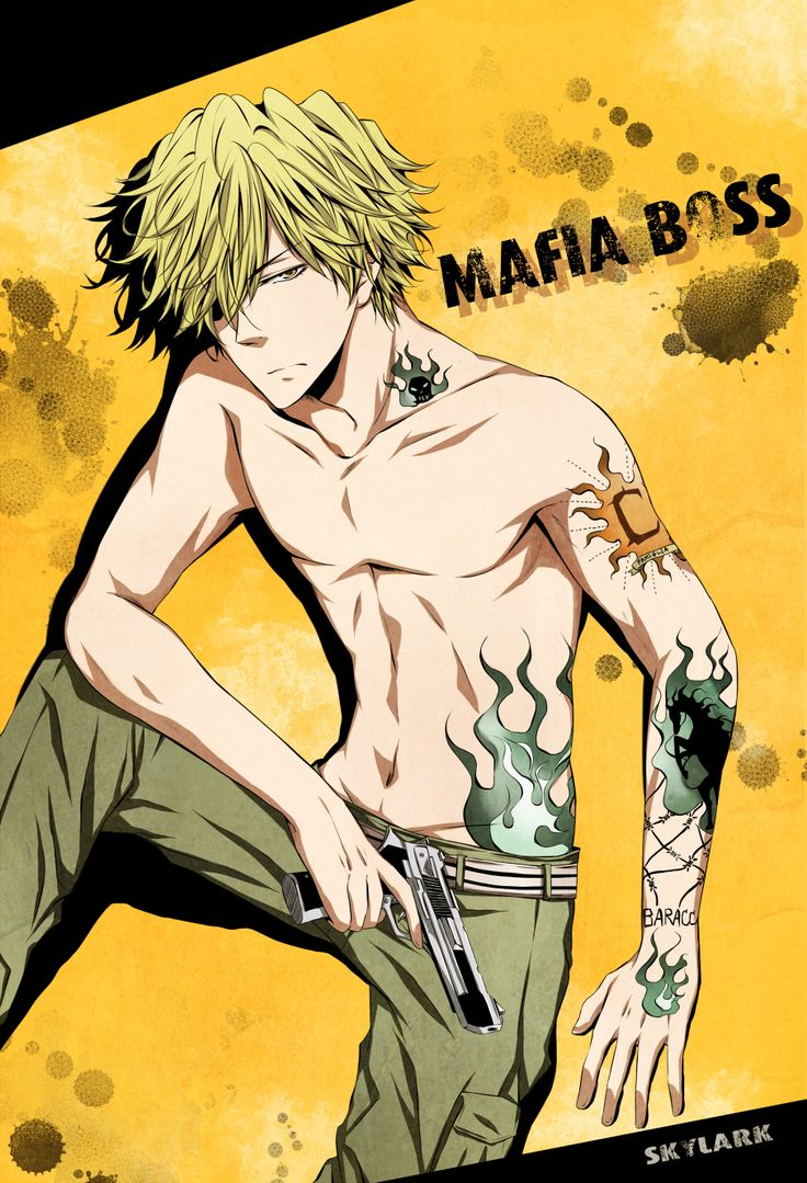 21bb23eba2cdc78dfbbd49ddc3782c2e hot anime anime guys 15 Handsome Male Anime Characters with Tattoos