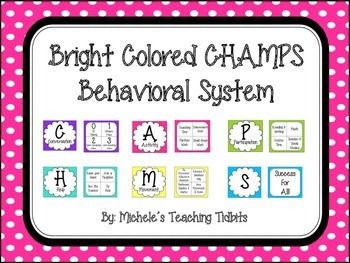 CHAMPS Behavioral System