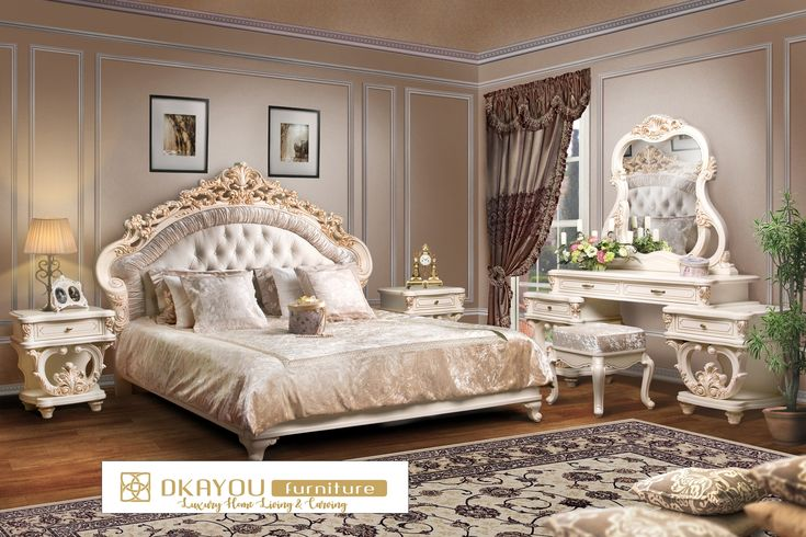 Set Tempat Tidur Mewah Klasik Turkey Terbaru Ofeliya