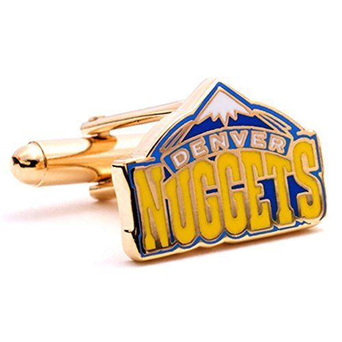 NBA Denver Nuggets Cufflinks >>> Be sure to check out this awesome product.