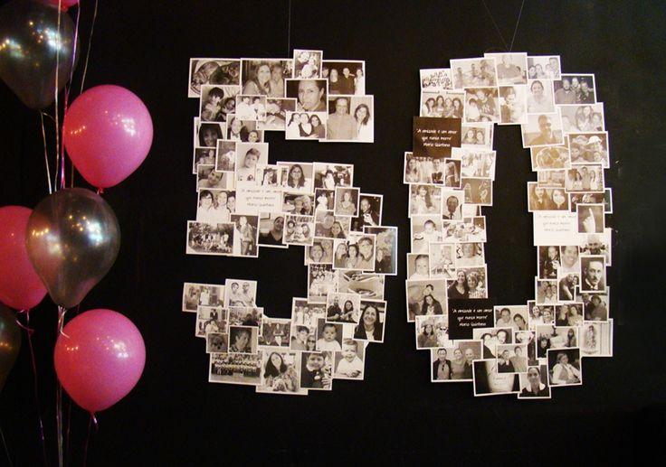 Toda festa de aniversário é um momento muito especial. Esta, de 50 anos, foi planejada com muito carinho pela aniversariante que procurou fotos de todos os convidados para compor a decoração. Com a…