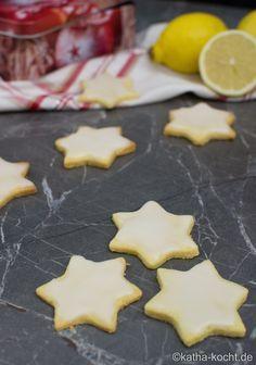 Weihnachtsgebäck - Zitronen Plätzchen - Katha-kocht!