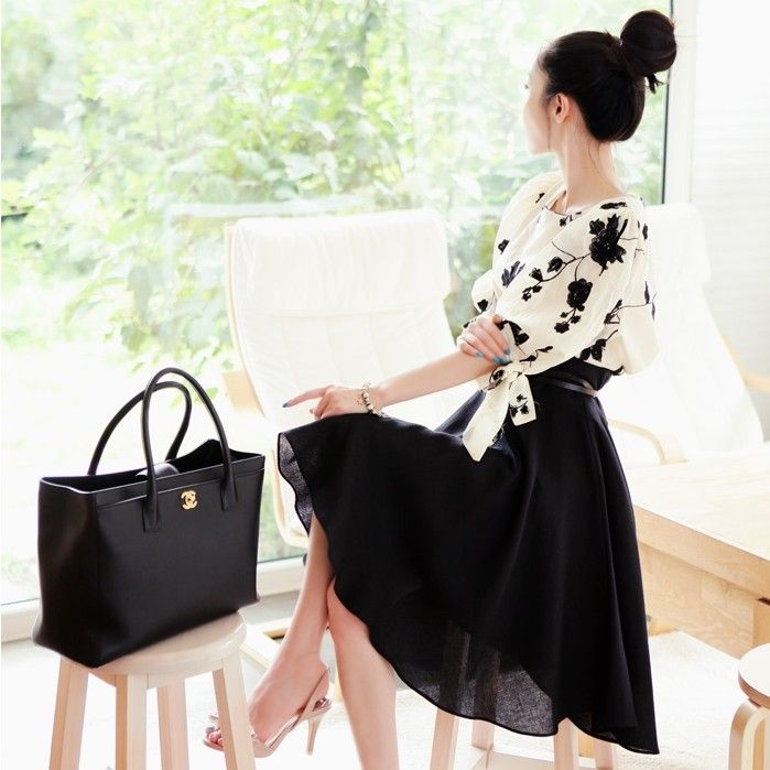 [Luxe Asian Women Dresses Fashion Style Korean Fashion Clothing korean swimsuits bikini swimwear tankini] Lady skirt