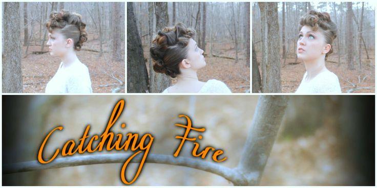 Hunger Games Catching Fire Johanna Mason Interview Hairstyle Tutorial!  #hungerg…