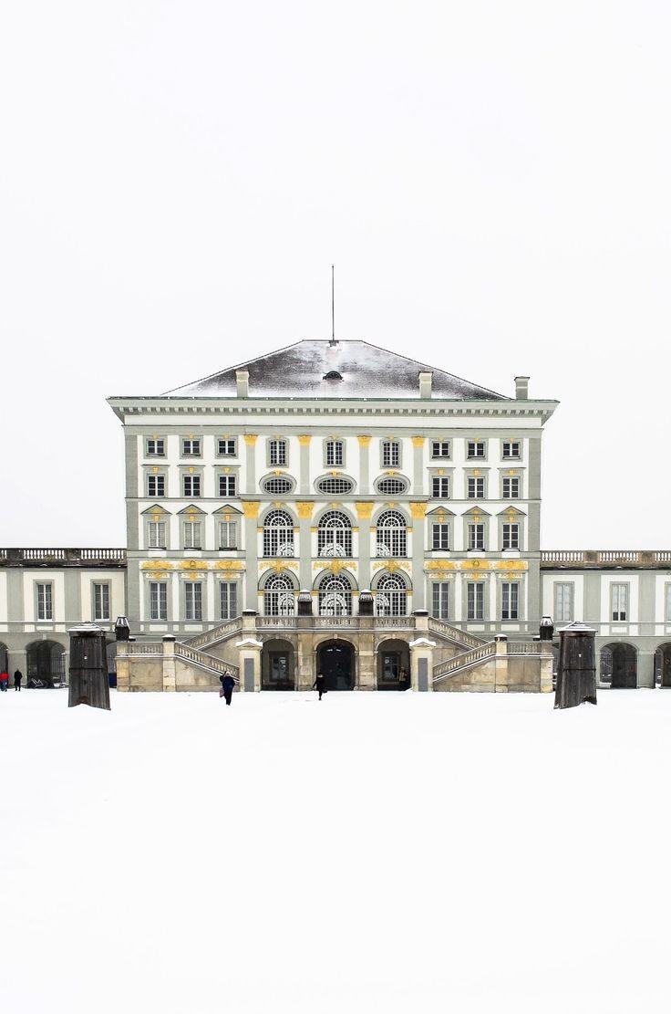 The stunningly Beautiful Nymphenburg Palace in Munich, Germany