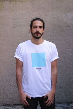 Havana - The Ci-Tee collection is based on a google search of each individual city, and each colour code is based on the most frequent colour that comes up on google when googling. It's a fun way of showcasing cities around the world through a colour instead of a flag. See more Ci-Tee shirts at amesstore.se