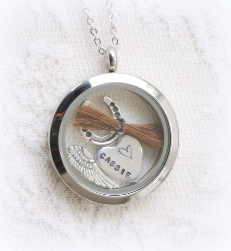 HORSE+HAIR+LOCKET+-+MEMORIAL, £24.99