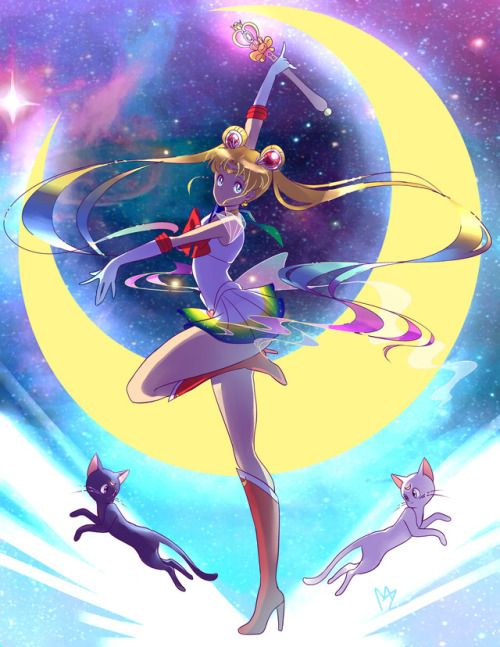 midnazorart: Super Sailor Moon Another Illustration I did for...