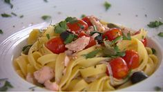 Tagliatelle al salmone - recept | 24Kitchen