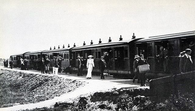 Early Cape Town history page - The Milnerton Train in the Early 1900s | Flickr - Photo Sharing!