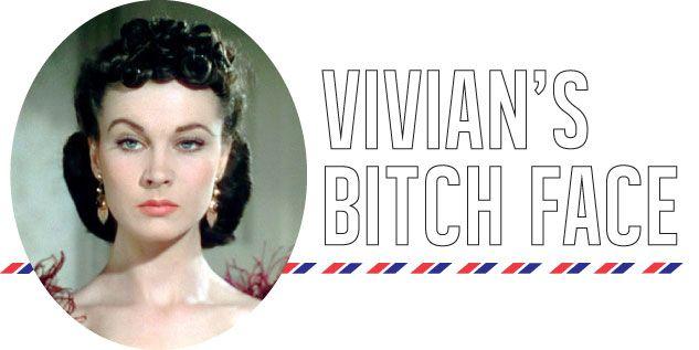 Vivian Leigh's Bitchy Resting Face