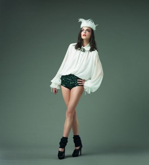 Fashion editorial | Prelude to a dream | Hats on clouds | feather headband